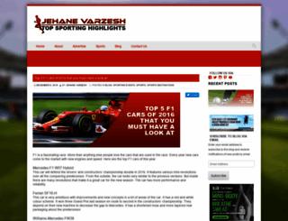 jehanevarzesh.com screenshot