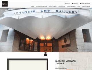 jehangirartgallery.com screenshot