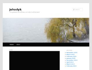 jehodyk.wordpress.com screenshot