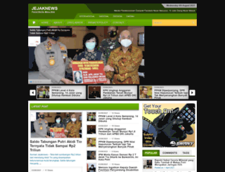 jejaknews.com screenshot