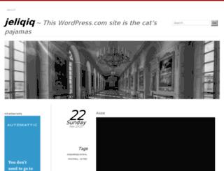 jeliqiq.wordpress.com screenshot