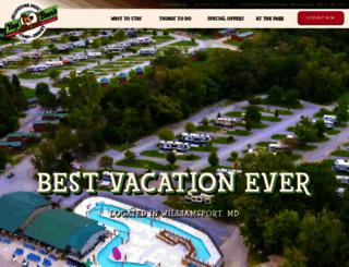 jellystonemaryland.com screenshot