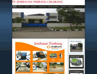 jembatantimbangcikarang.co.id screenshot