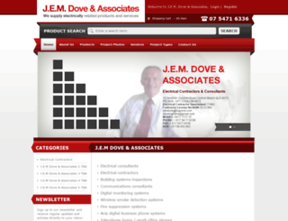 jemdove.com.au screenshot