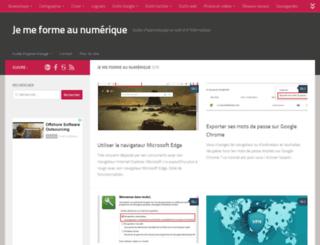 jemeformeaunumerique.fr screenshot