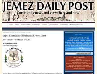 jemezdailypost.com screenshot