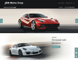 jemmotorcorp.com screenshot