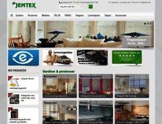 jemtex.dk screenshot