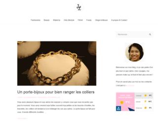 jena-lee.fr screenshot