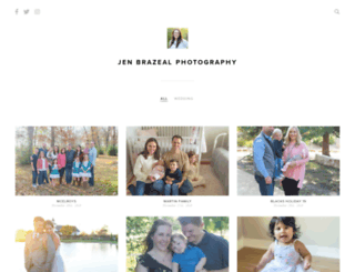 jenbrazealphotography.pixieset.com screenshot