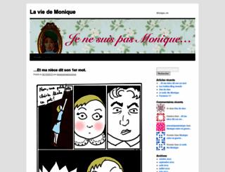 jenesuispasmonique.wordpress.com screenshot