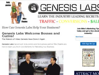 jenkinsgenesislabs.com screenshot