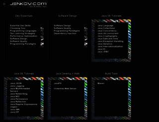 jenkov.com screenshot