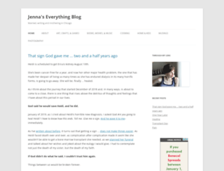 jennaseverythingblog.com screenshot