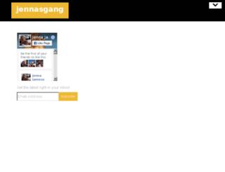 jennasgang.com screenshot