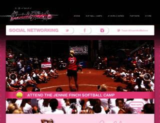 jenniefinch.com screenshot