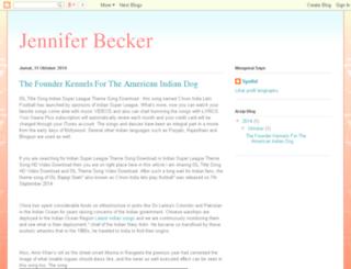 jenniferbecker-landsberger.blogspot.com screenshot