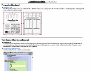 jennifermadden.com screenshot