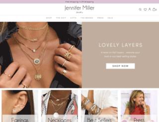 jennifermillerjewelry.com screenshot
