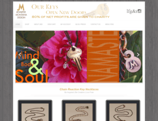 jennifermontanadesign.com screenshot