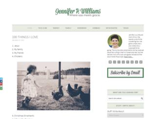 jenniferpwilliams.com screenshot