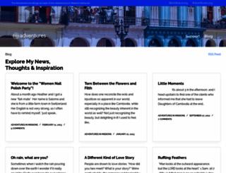 jenniferrasmussen.myadventures.org screenshot