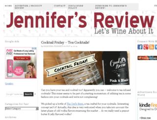 jenniferreviews.com screenshot