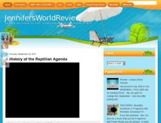 jennifersworldreviews.blogspot.com screenshot