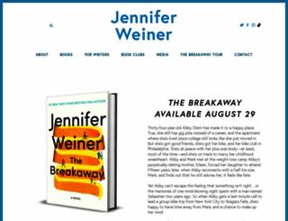 jenniferweiner.com screenshot