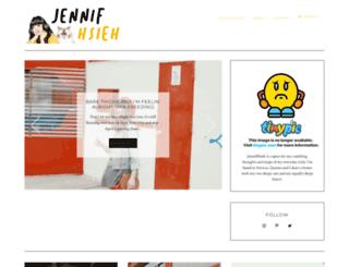 jennifhsieh.blogspot.com screenshot