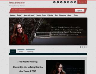 jennischaefer.com screenshot