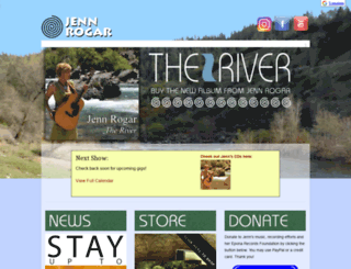 jennrogar.com screenshot