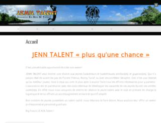 jenntalent.com screenshot