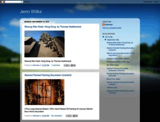 jennwilks.blogspot.pt screenshot
