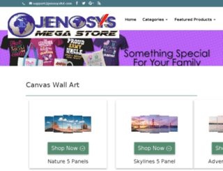 jenosysltd.com screenshot