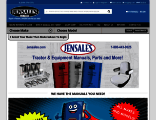 jensales.com screenshot