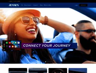 jensenmobile.com screenshot