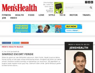 jenshealth.de screenshot