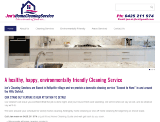 jenshomecleaningservice.com.au screenshot