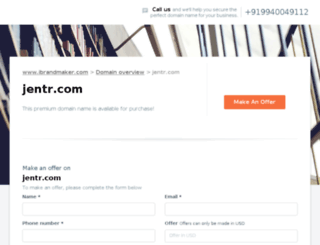 jentr.com screenshot