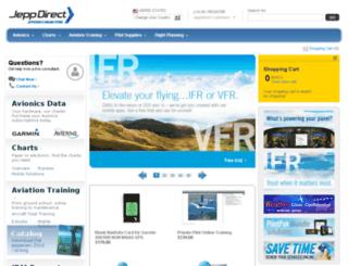 jeppdirect.jeppesen.com screenshot