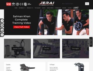 jeraifitness.com screenshot