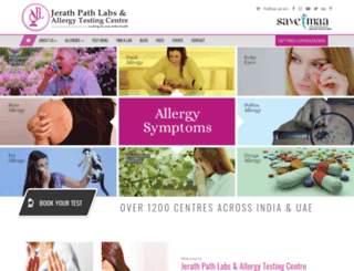jerathpathlabs.com screenshot