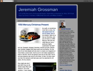 jeremiahgrossman.blogspot.com screenshot