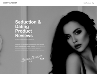 jeremydower.com screenshot