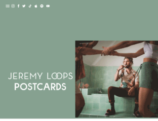 jeremyloops.com screenshot