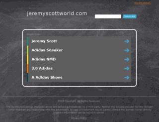 jeremyscottworld.com screenshot