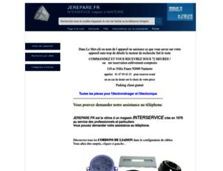 jerepare.fr screenshot