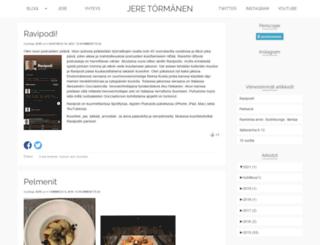 jeretormanen.com screenshot