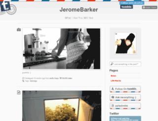 jericobarker.tumblr.com screenshot